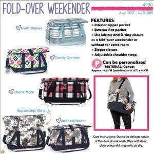 Thirty-One Fold Over Weekender